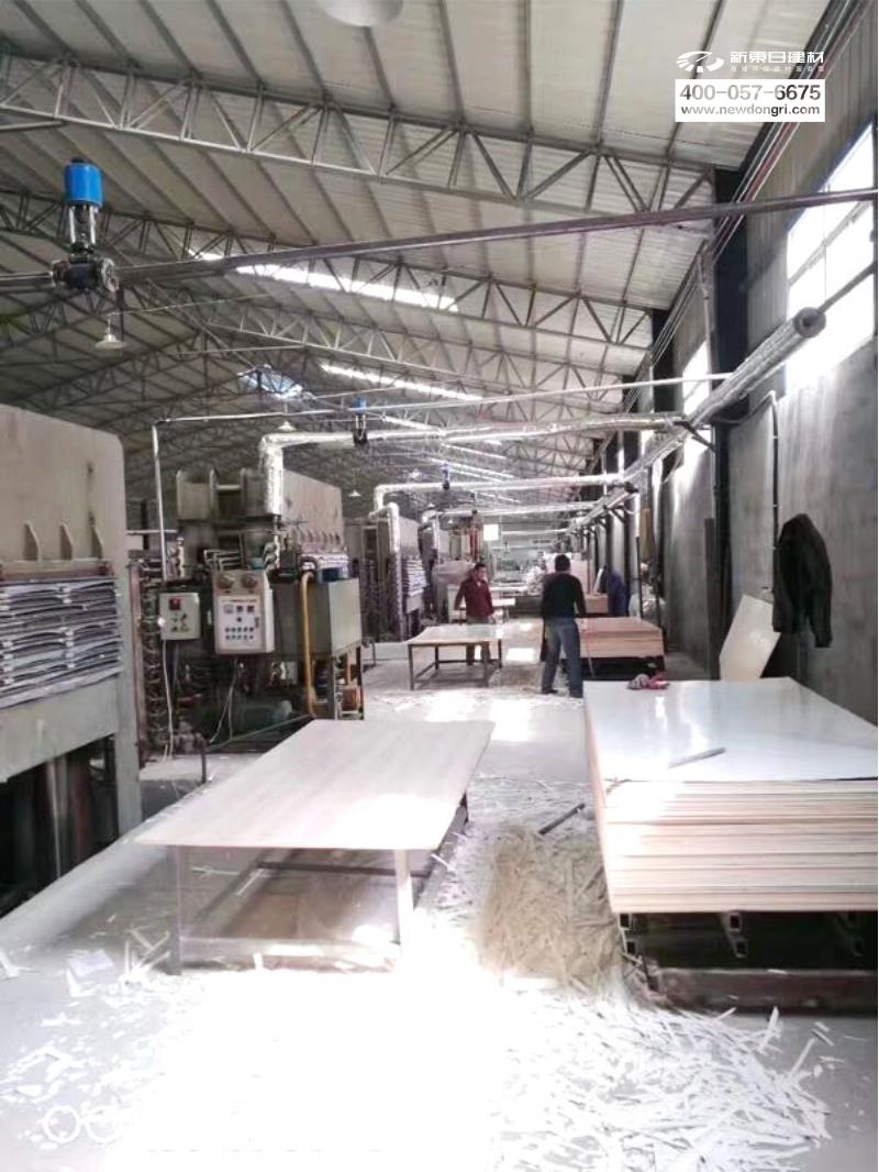 工厂-贴面板